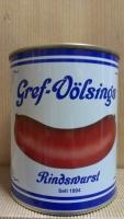 Original Gref Völsings Rindswurst in der Dose