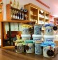 Historische Senfmühle Monschau Schlesische Art Senf (Ton Gefäß)